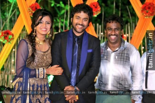 VJ-Anjana-Chandran-Wedding-Reception-Photos-1-TamilGlitz.in-Image