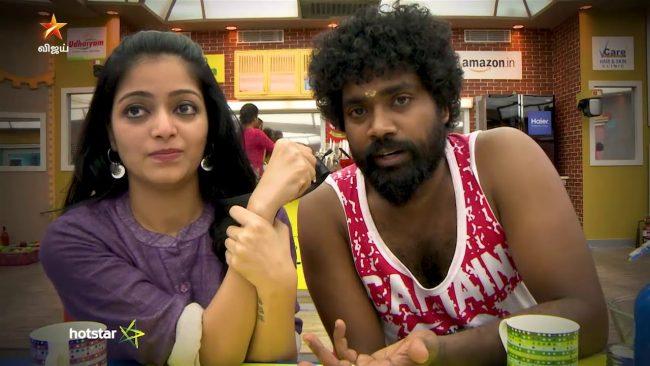 Bigg Boss Tamil Captain & Dannie